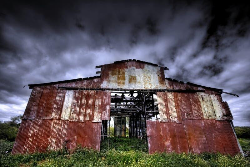 Barn of Yesterday stock photos