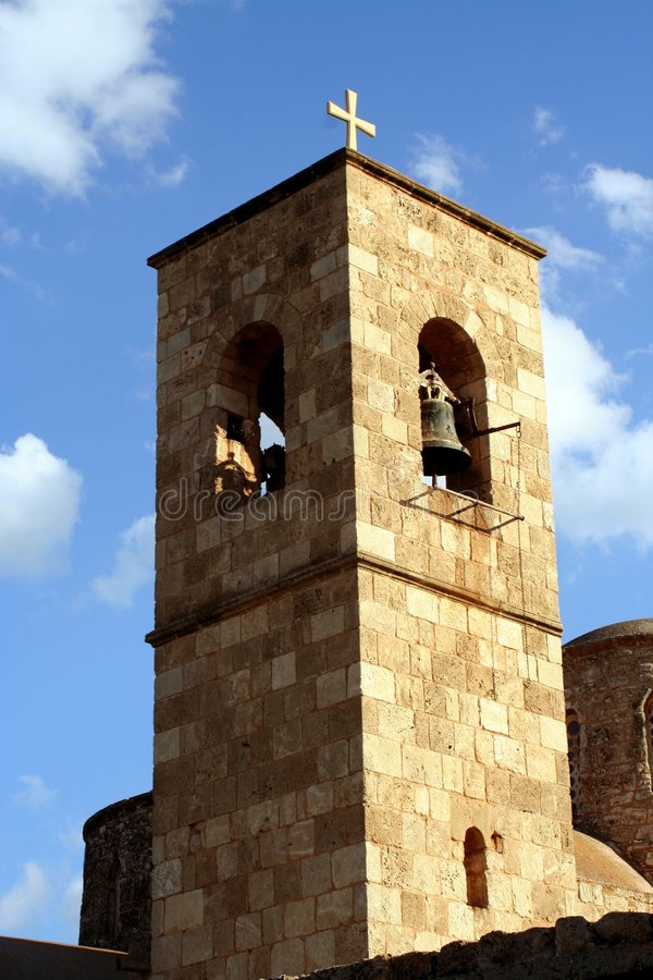 barnabas修道院st塔 库存照片