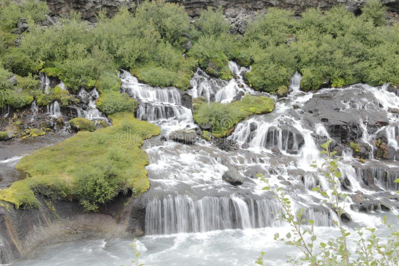 Download Barnafossar Islandia, Agosto De 2017 Imagen de archivo - Imagen de cuál, cascada: 100525907