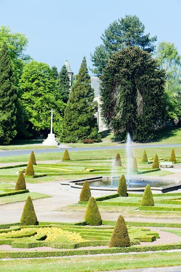 barnard κήπος κάστρων στοκ εικόνες με δικαίωμα ελεύθερης χρήσης