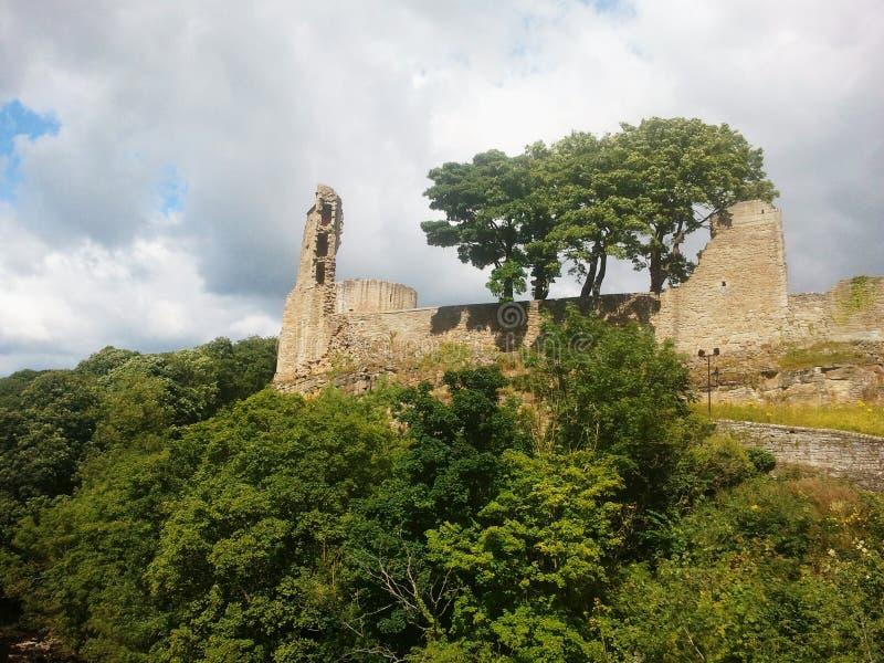 Barnard Castle, Grafschaft Durham stockfotos