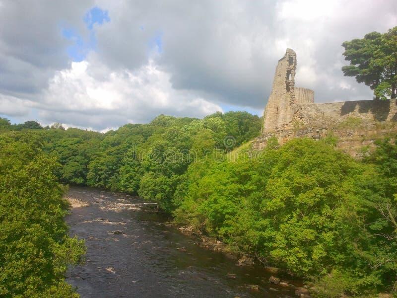 Barnard Castle, County Durham stock photos