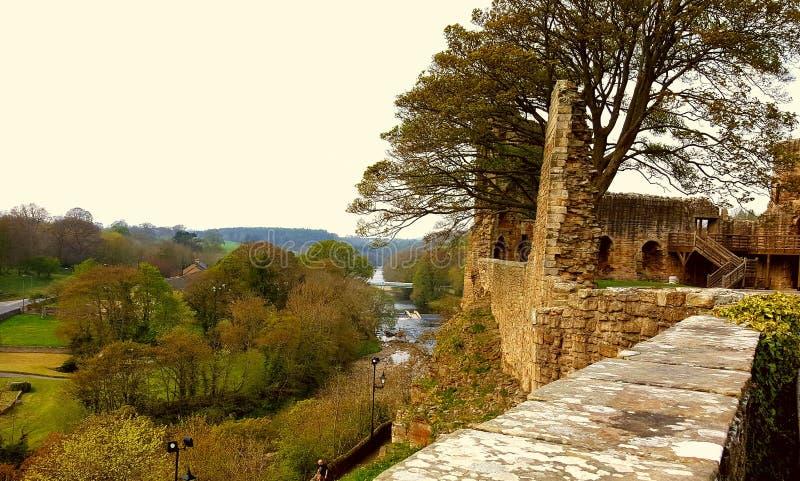 Barnard Castle and Weardale stock photo