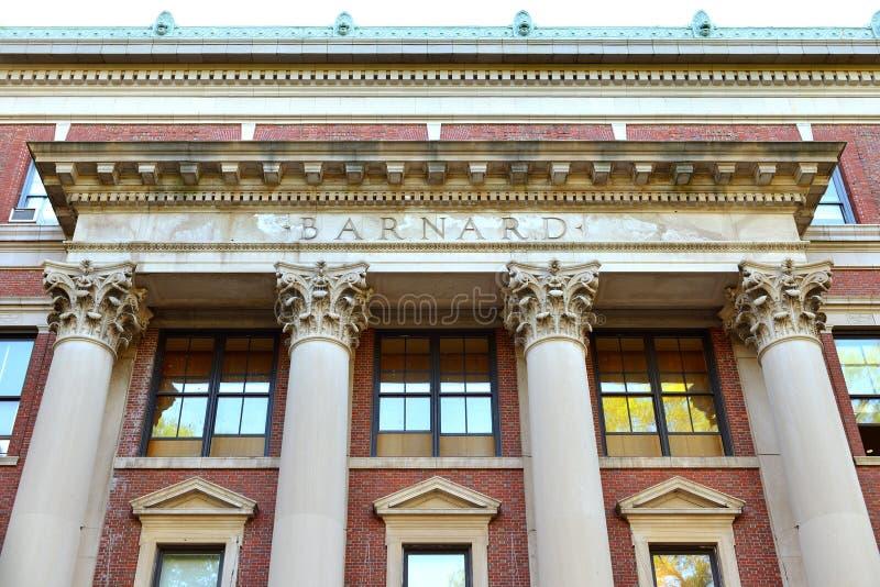 Barnard College, faculdade privada das humanidades das mulheres Fundado em 1889 New York City imagem de stock royalty free