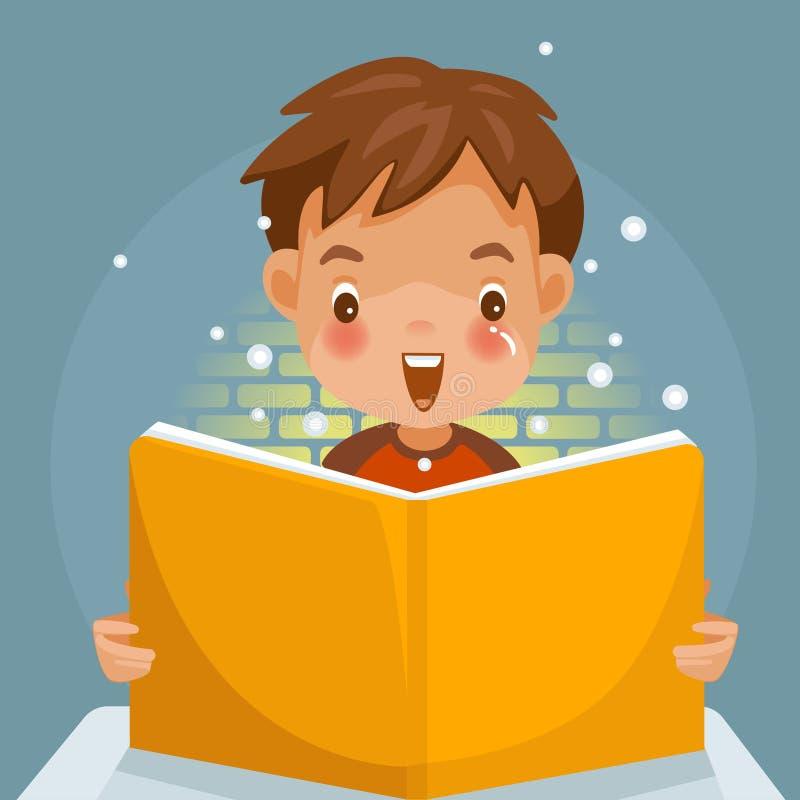 Barnbok vektor illustrationer