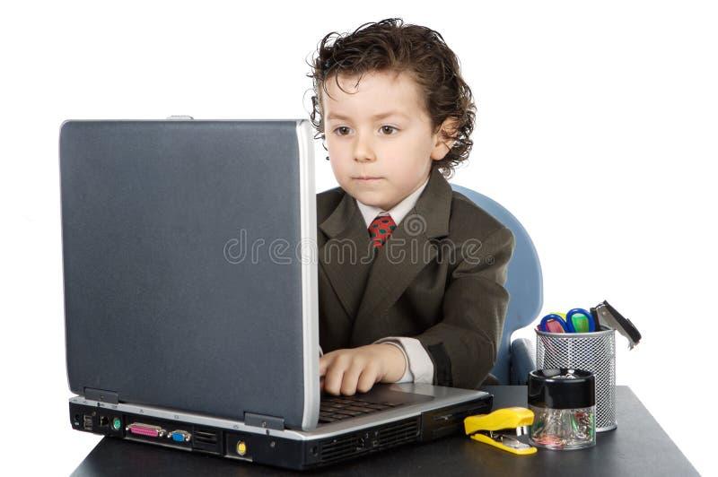 barndator arkivfoto