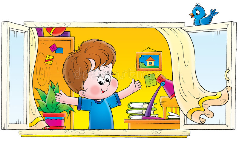 barndom 006 royaltyfri illustrationer