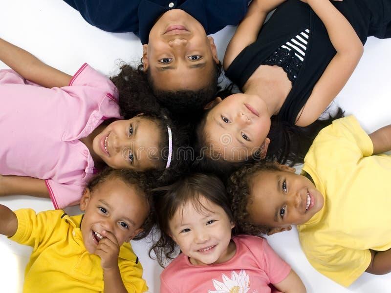 barndomungar royaltyfria foton