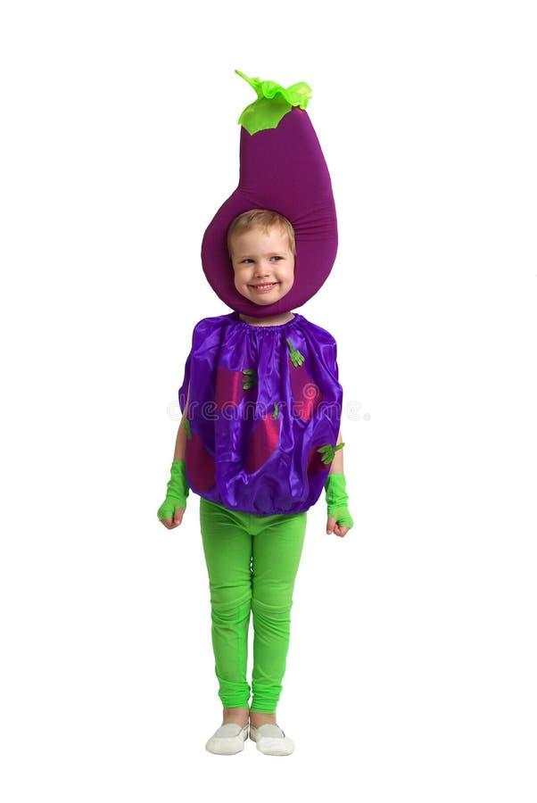 barndräktgrönsak royaltyfri fotografi