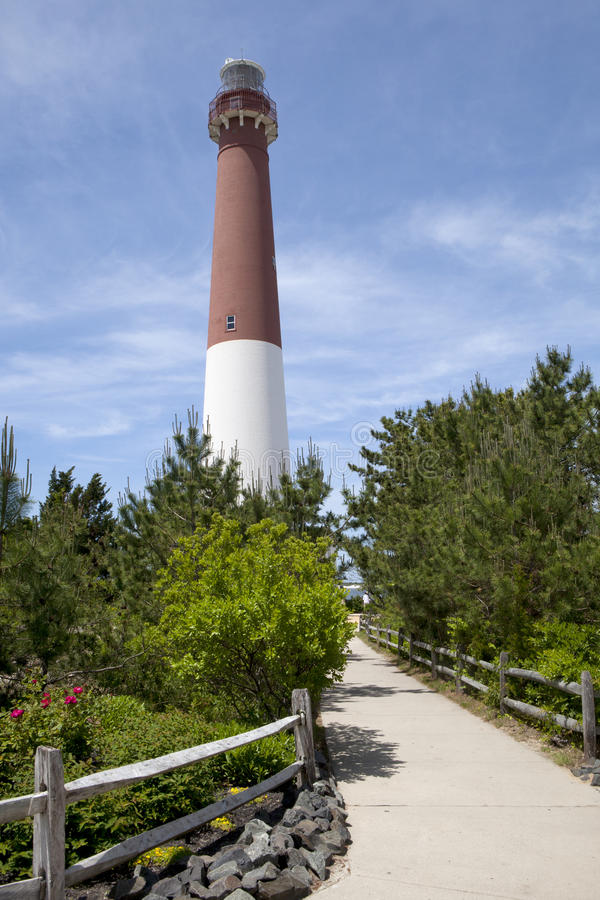 Barnegat-Licht-Leuchtturm, New-Jersey lizenzfreies stockfoto