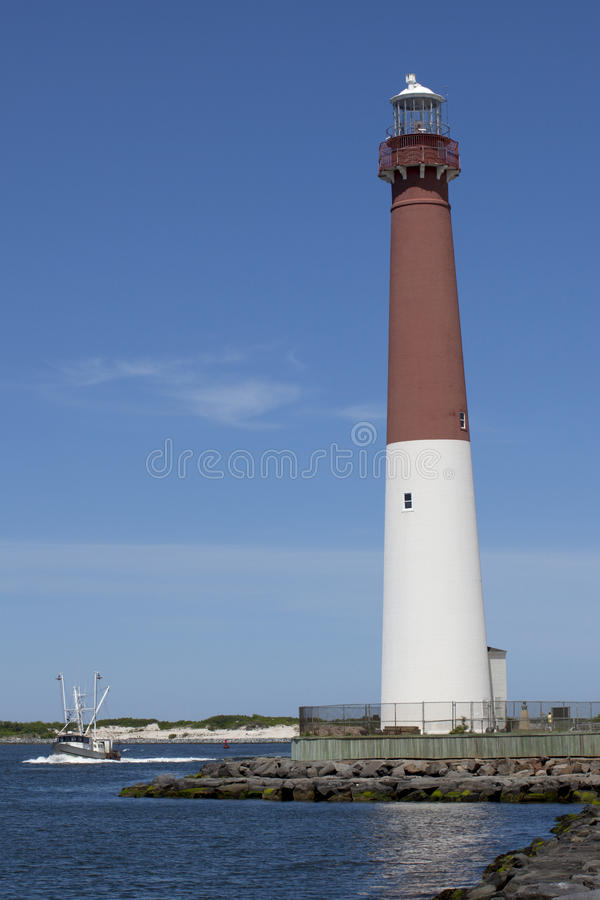 Barnegat Light Lighthouse, New Jersey stock photography
