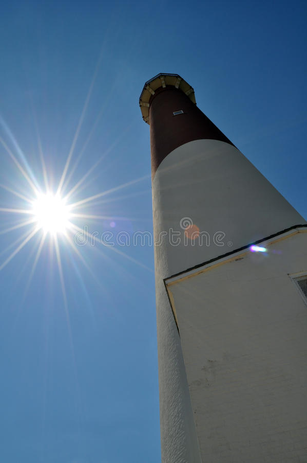 Download Barnegat Lighthouse stock photo. Image of sunny, angle - 20759342