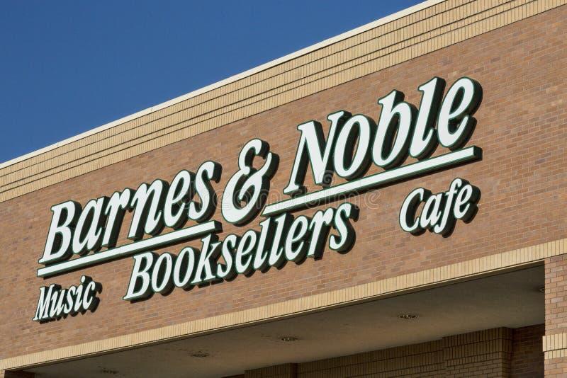 Barnes en Edele boekhandel royalty-vrije stock foto