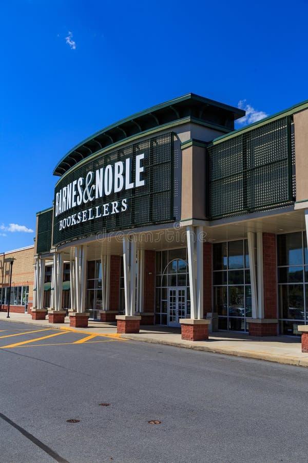 Barnes & Noble-Ingang stock foto