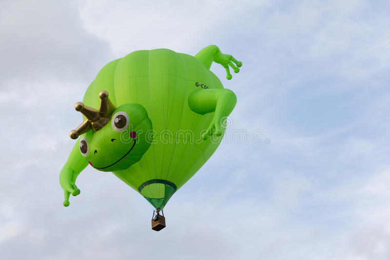 BARNEVELD, THE NETHERLANDS - AUGUST 28: Colorful air balloons ta royalty free stock photography