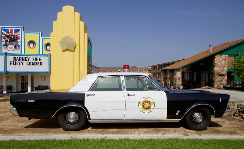 Barney Fife's Patrol Car from the Andy Griffith Show royalty free stock image