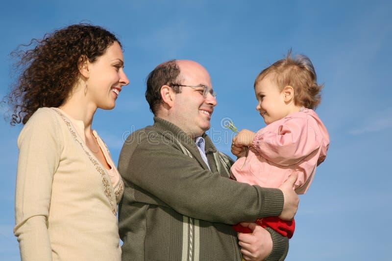 barnföräldrar royaltyfria bilder