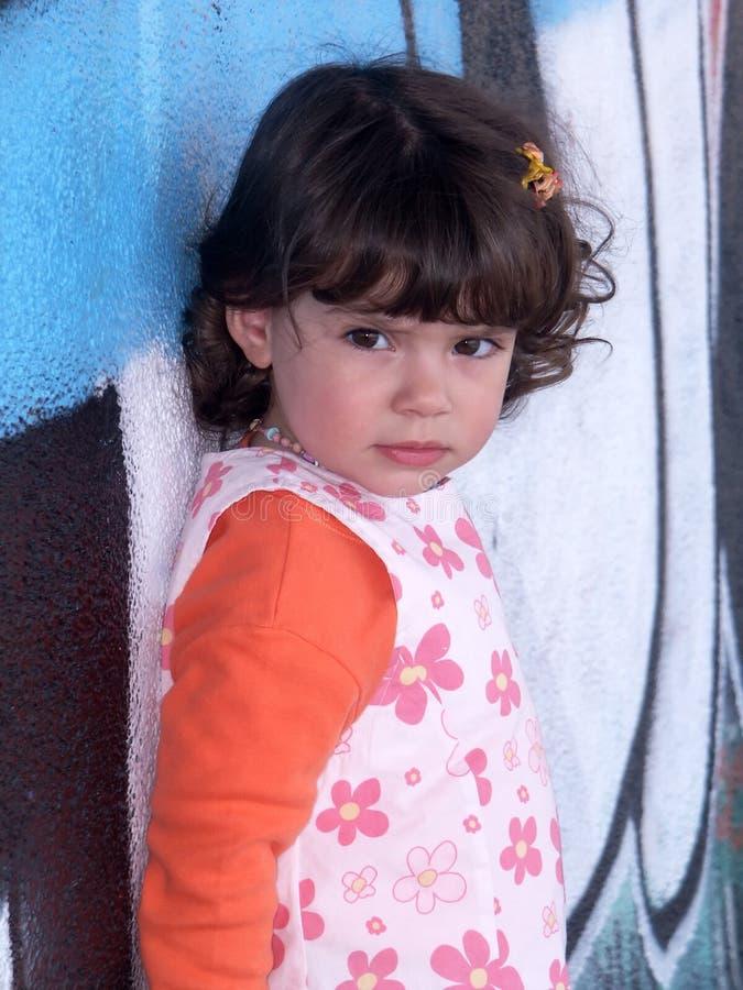barnflickabarn fotografering för bildbyråer
