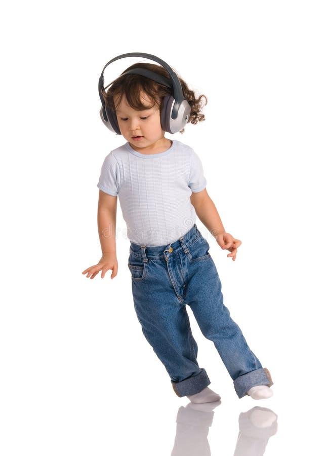 barnhörlurar arkivfoton