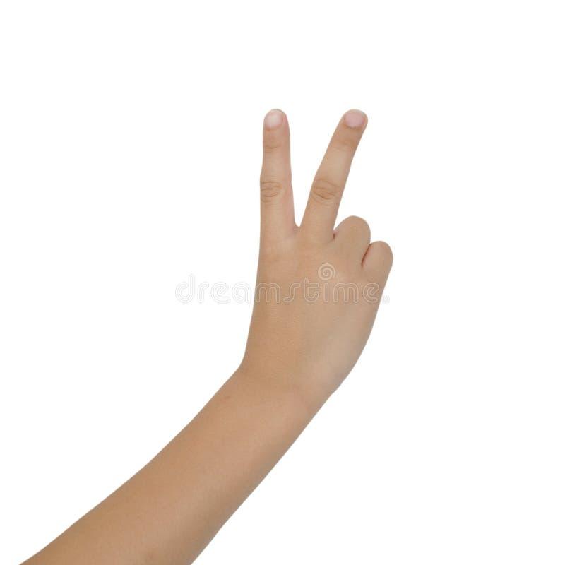 Download Barnhand på vit bakgrund fotografering för bildbyråer. Bild av tecken - 78725617