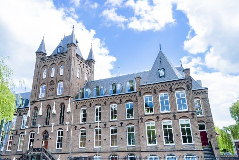 Barnhem för St Hieronymus och ålderdomshem, Utrecht, Nederländerna royaltyfri fotografi
