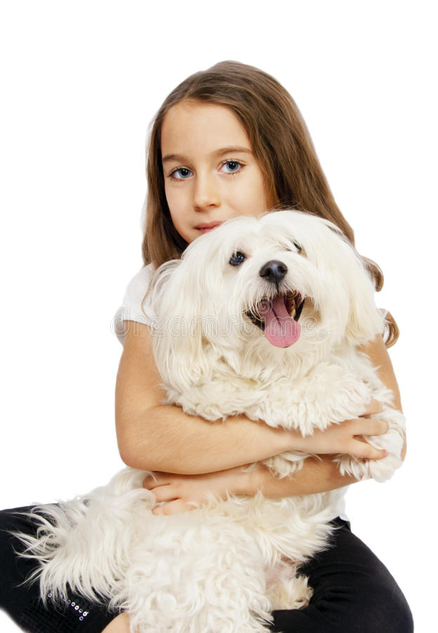 barnhund arkivbild