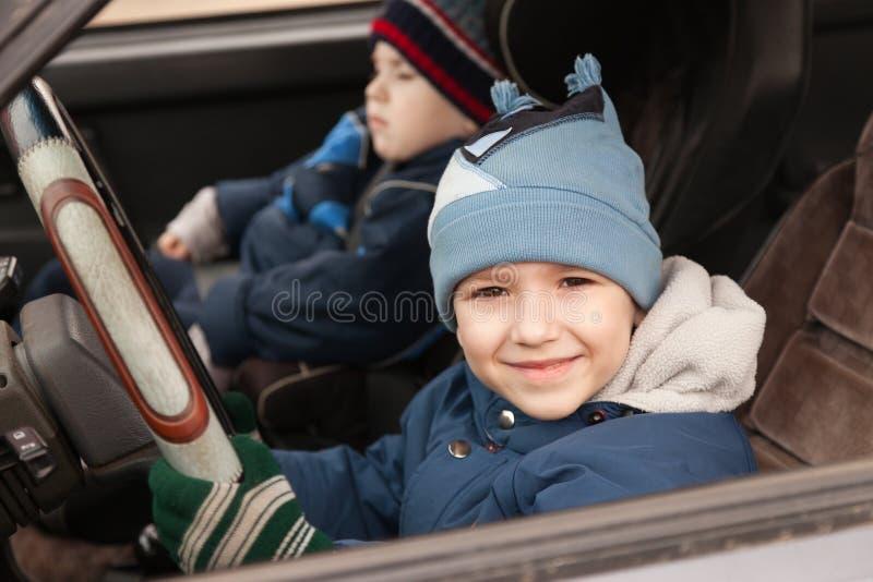 barnkörning royaltyfria foton