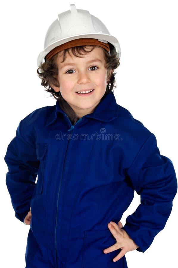 barnkläderarbete royaltyfri foto