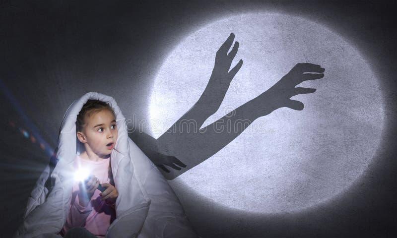 Barnmardröm royaltyfria bilder