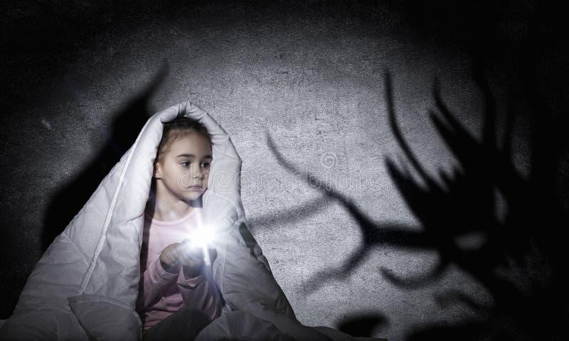 Barnmardröm royaltyfri foto