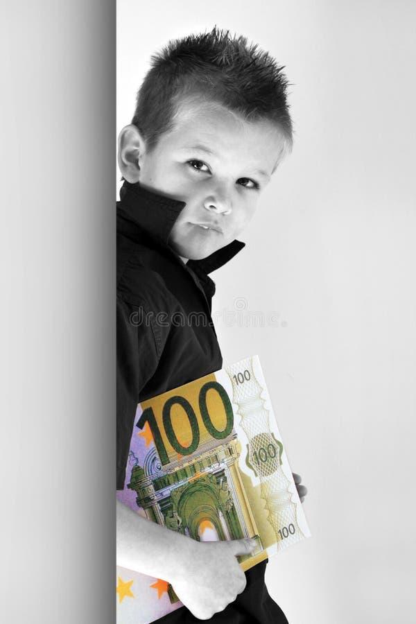 barnpengar arkivbilder
