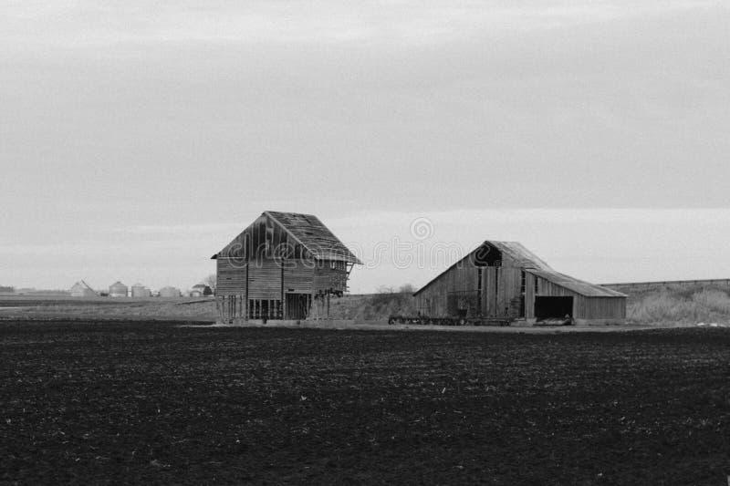 Barns In Field Free Public Domain Cc0 Image