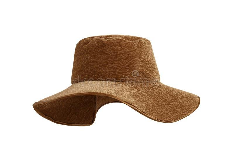 Barns hatt av cowboyen från velvetin arkivfoton