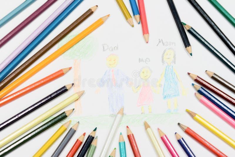 Barns konst arkivbild