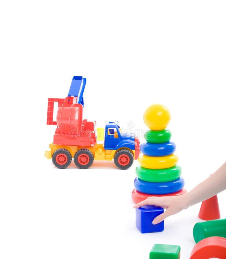 Barns lekplats royaltyfri bild