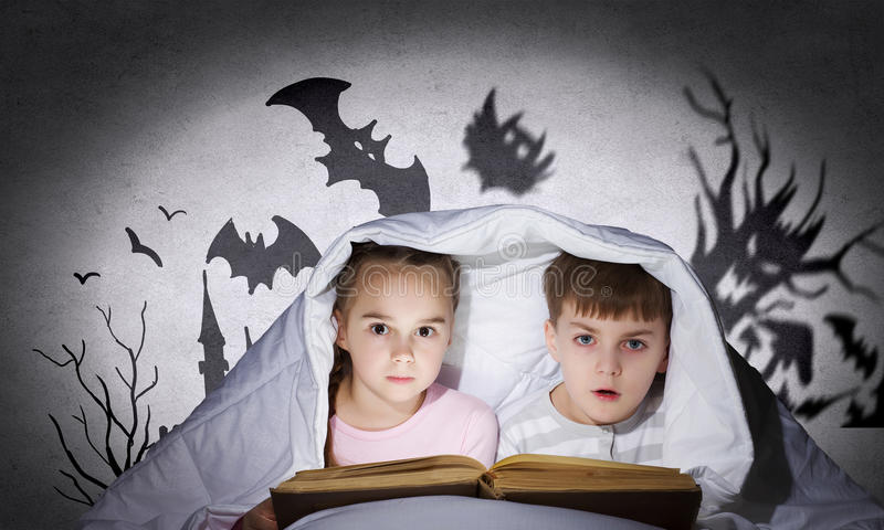 Barns mardrömmar royaltyfria foton