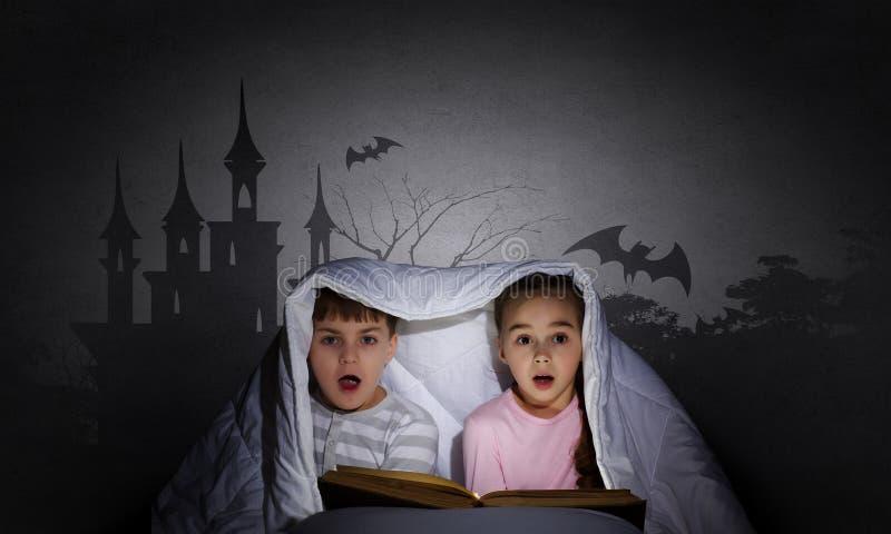 Barns mardrömmar arkivfoto