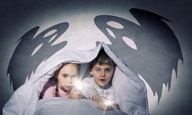 Barns mardrömmar royaltyfri bild