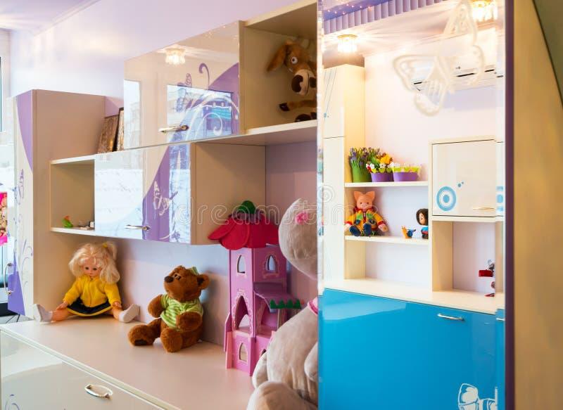 Barns rum arkivbilder