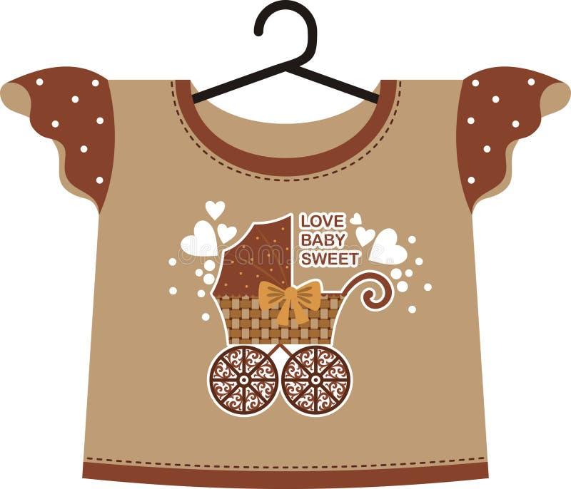Barns wear royaltyfri illustrationer