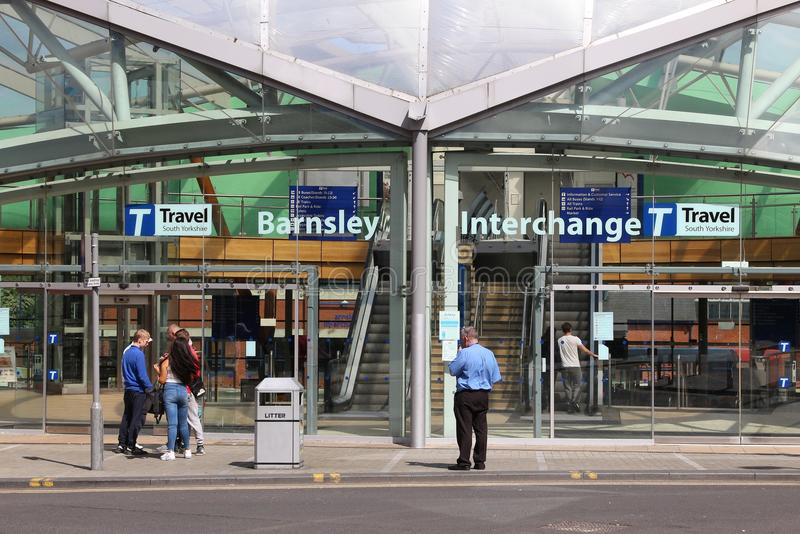 Barnsley Interchange royalty free stock images