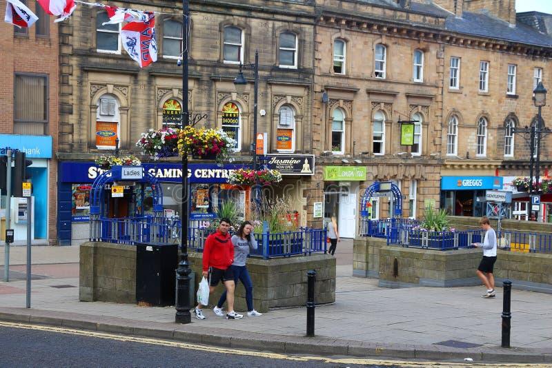 Barnsley Regno Unito immagini stock
