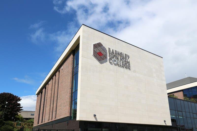 Barnsley szóstego formy szkoła wyższa zdjęcia royalty free