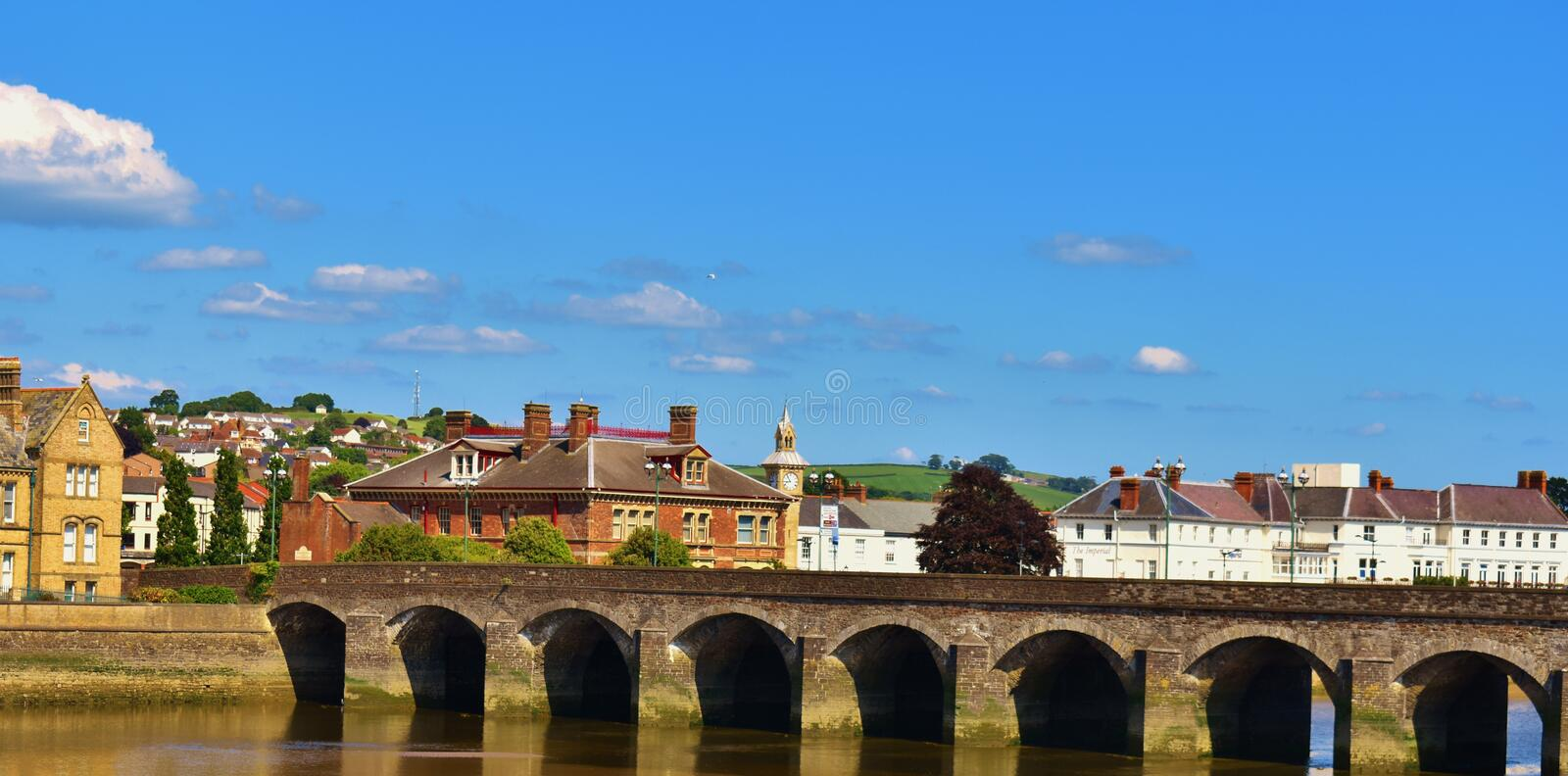 Barnstaple photo libre de droits