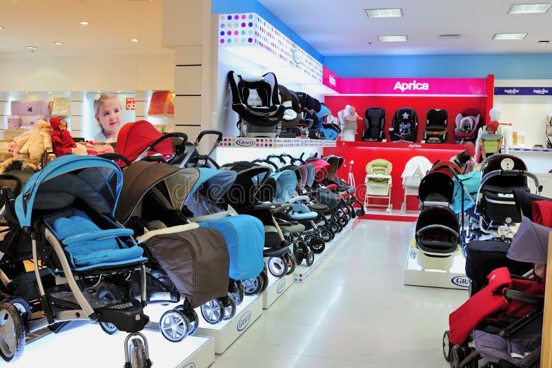 Barnvagnlager fotografering för bildbyråer