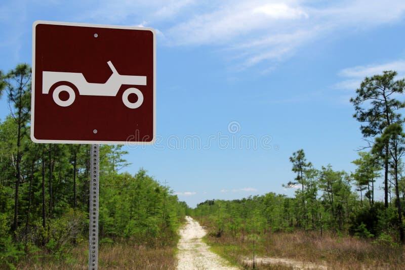 Barnvagnslingatecken fotografering för bildbyråer