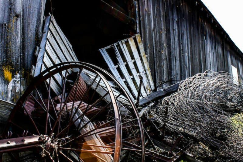 barnyard foto de archivo