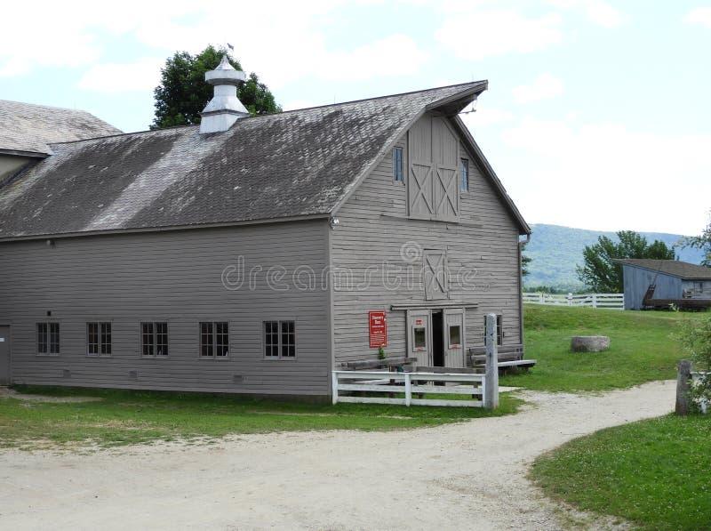 Barnyard en Shaker Village Discovery Room imagen de archivo libre de regalías