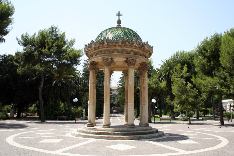 Barocco pavilion royalty free stock images