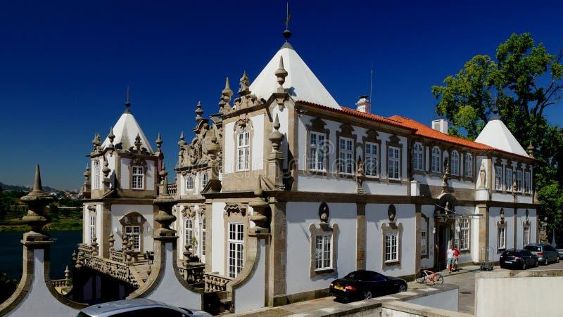 Barock slott royaltyfria foton